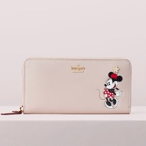 Kate Spade Disney Minnie Mouse Lacey Wallet